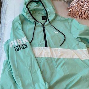 Pink brand jacket